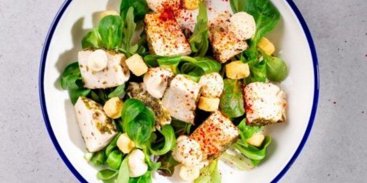 Saladas cesar de frango da Sammic