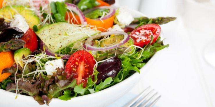 saladas diferentes para restaurante